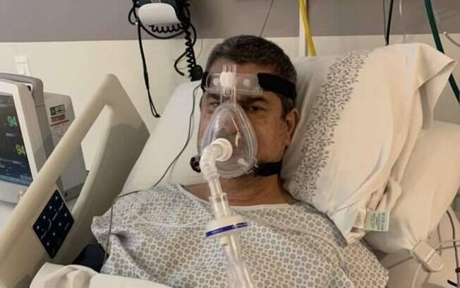 Coronel Tadeu foi colocado em ventilador em UTI de um hospital em São Paulo