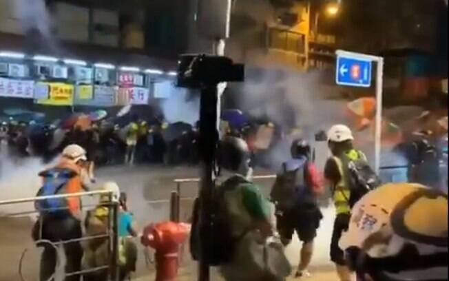 Hong Kong tem registrado protestos pró-democracia, que vêm sendo reprimidos