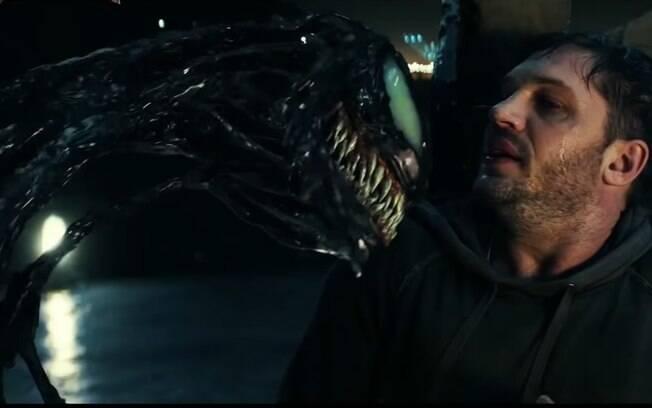 Cena de Venom, que estreia nos cinemas brasileiros nesta quinta-feira (4)