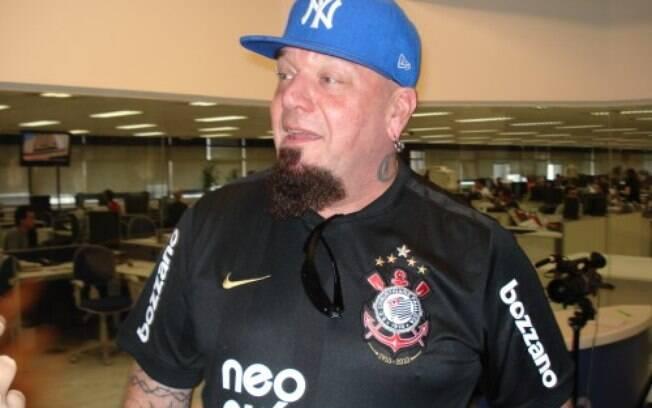 Paul Di'Anno é torcedor do Corinthians