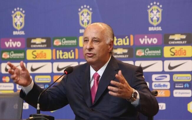 Marco Polo Del Nero, presidente da CBF, está suspenso do futebol por 90 dias
