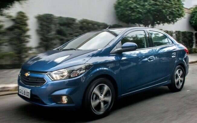 Assim como o hatch, o Chevrolet Prisma também se deu bem no ranking de vendas