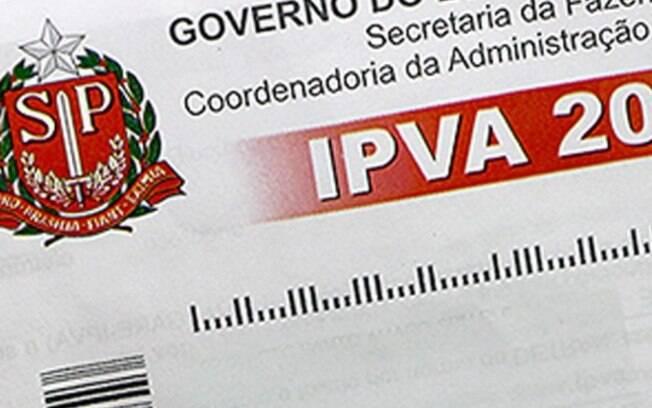 Reestituição do IPVA será paga em março e abril