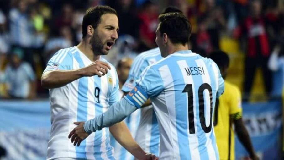 Higuaín e Messi podem se reencontrar nos Estados Unidos