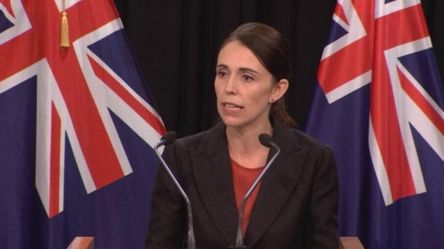 Primeira-minista da Nova Zelândia, Jacinda Ardern