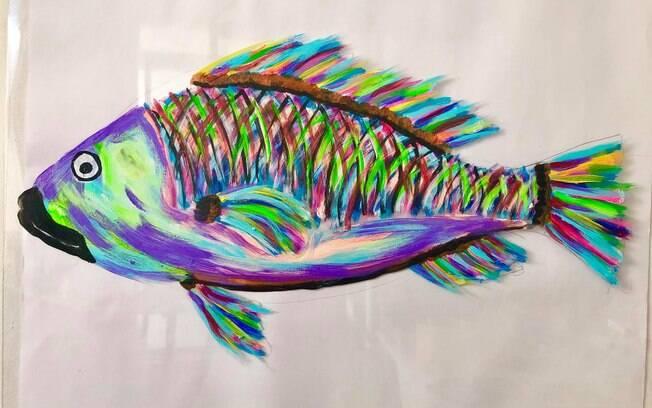 Pinturas sobre os animais do Brasil colorem as estações da CPTM