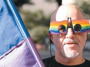 Sem preconceito. Em BH, também houve comemoração do Dia Internacional contra a Homofobia
