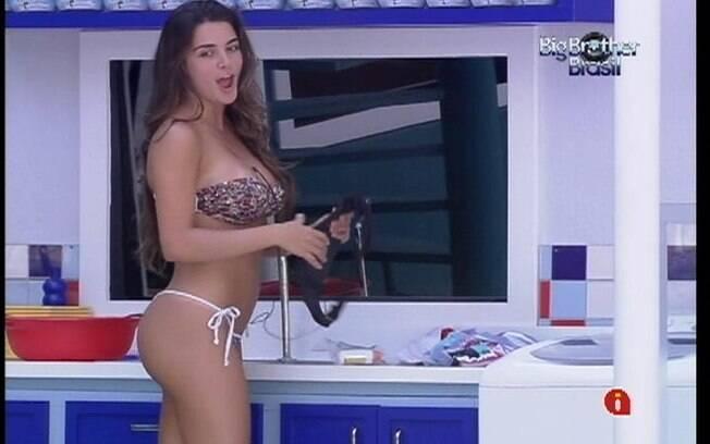 Laisa brinca com João Carvalho sobre o veto de Rafa