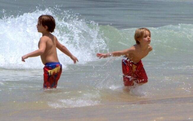 Filhos de Britney no mar carioca