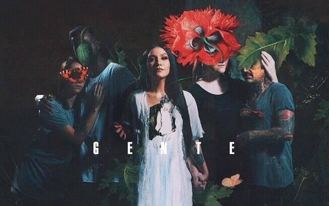 Capa do álbum Gente, da Priscilla Alcântara