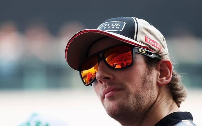 Lotus - Romain Grosjean - conseguiu três  pódios em 2012, mas também ganhou fama pelos  acidentes