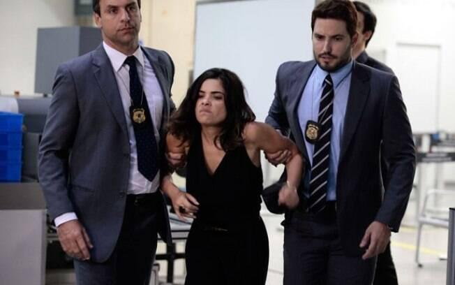 Aline é presa ao tentar fugir de São Paulo
