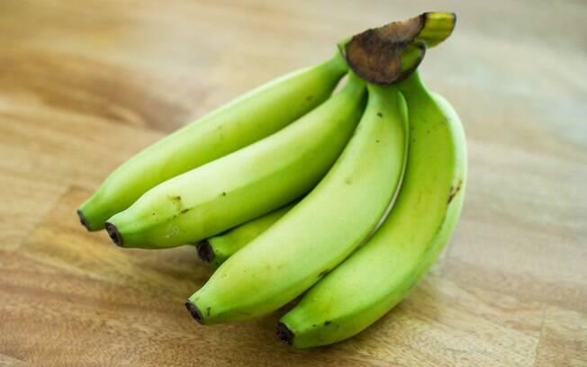 É importante comer bananas verdes