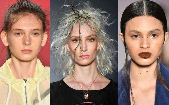 Para o outono inverno deste ano, a tendência é a de pele mais natural possível, valorizando a beleza da mulher