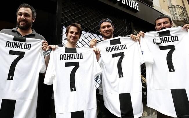 Camisa 7 da Juventus agora é de Cristiano Ronaldo e tem uma grande história dentro do clube