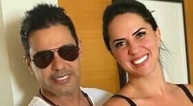 Zezé Di Camargo oficializa noivado com Graciele