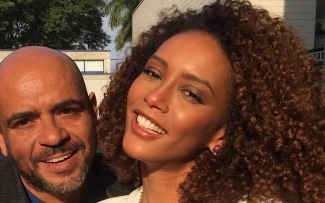 Wilson Eliodorio é o responsável pelo cabelo da atriz Taís Araújo