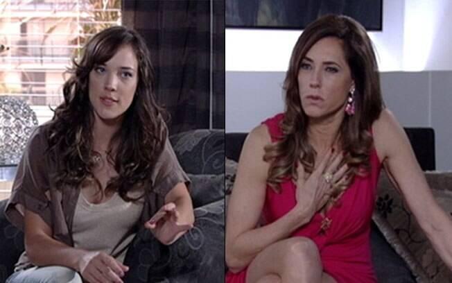 Tereza Cristina se faz de indignada perante a acusação da filha
