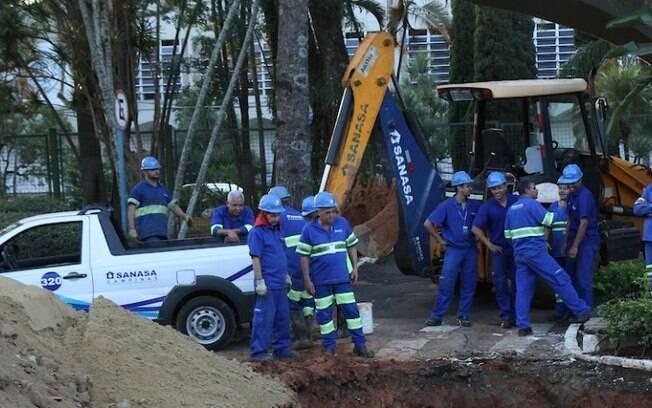 Obras da Sanasa cortam gua de 26 bairros nesta quarta