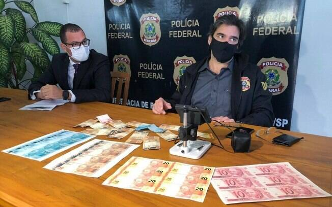 Polícia Federal apreendeu 80 mil cédulas falsas