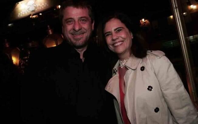 Mayara Magri e Flávio Galvão