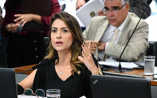 Soraya Thronicke (PSL-MS) é relatora do projeto que prevê que os presos sejam obrigados a ressarcir o Estado