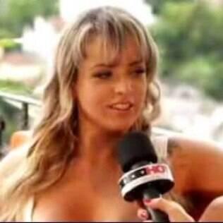 Angel Lima, estrela de filme pornô