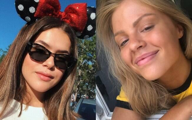 Maisa Silva e Luísa Sonza 'ganharam primos