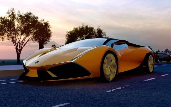 Um dos vários protótipos da Lamborghini Latinoamérica que nunca viram a luz do dia