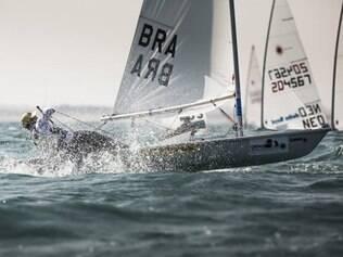 Brasileiro venceu cinco das 10 regatas, inclusive a medal race, e terminou a competição com 19 pontos perdidos