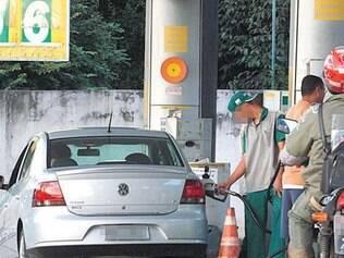 O álcool é vantajoso quando o preço é até 70% do da gasolina