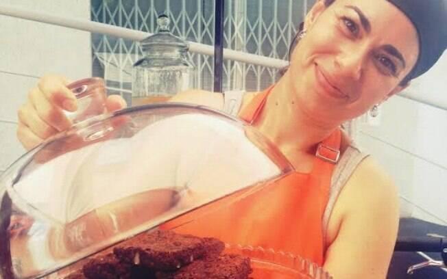 Bianca Alves Costa Mecchi largou o jornalismo há seis anos para cozinhar e é a dona da Brownie Affair. Foto: Divulgação