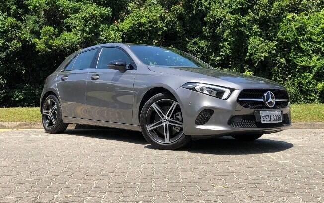 Mercedes-Benz Classe A: a nova identidade visual chega ao hatch médio inflacionado. embora tenha boas qualidades