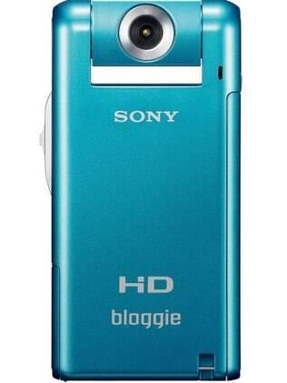 Bloggie, da Sony: filmadora com design vertical