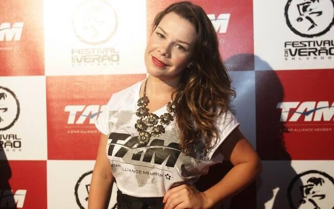 Fernanda Souza no Festival de Verão