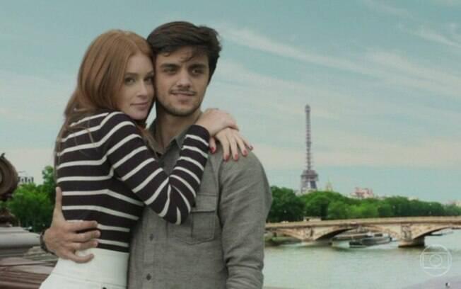 Eliza e Jonatas vão para Paris