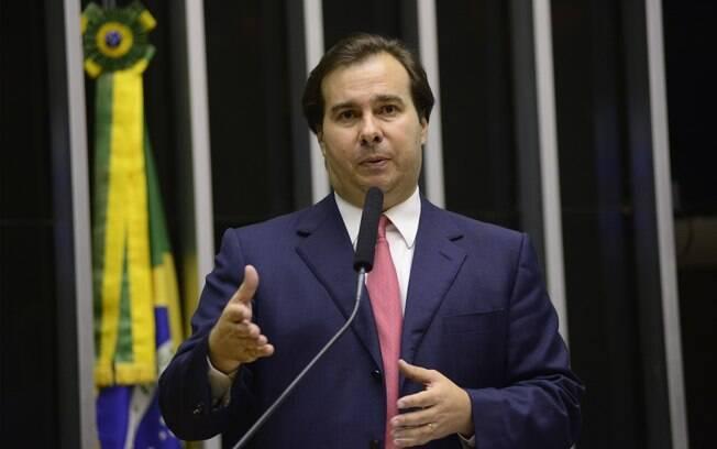O deputado Rodrigo Maia (RJ) é indicado do DEM para a comissão do impeachment.. Foto: Fotos Públicas