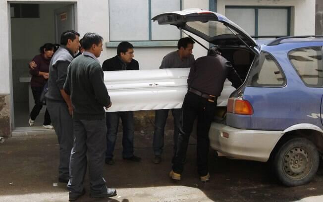 Corpo do garoto Kevin Espada foi enterrado no  sábado na cidade de Cochabamba