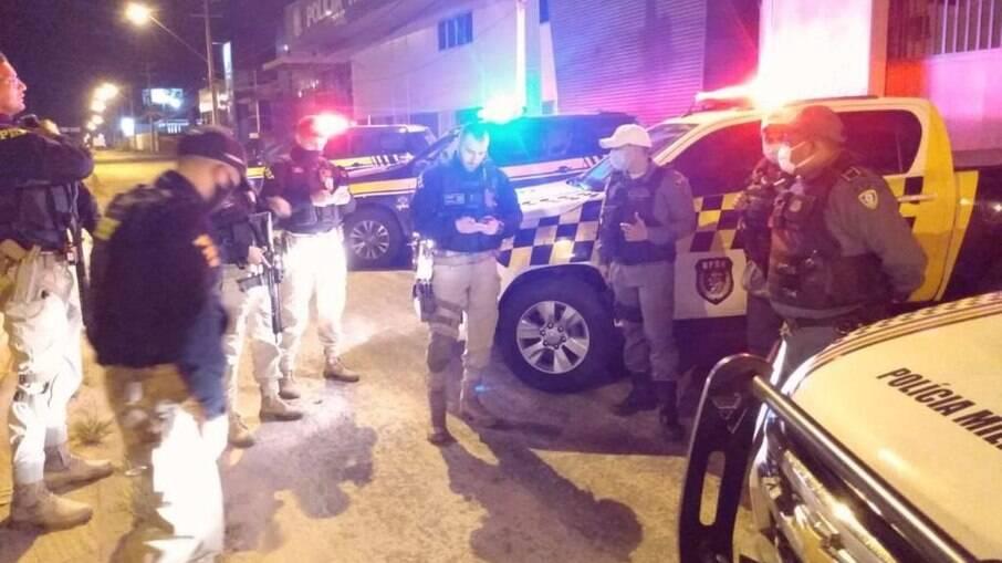 Ações foram deflagradas pelas polícias Rodoviária e Militar