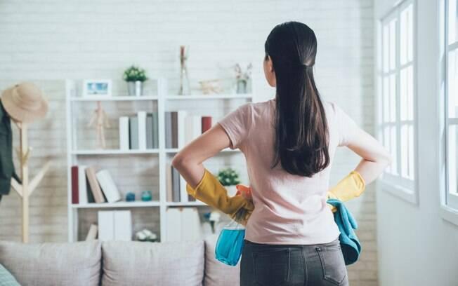 A limpeza da casa pode ficar mais prática com o método de organização Fly Lady