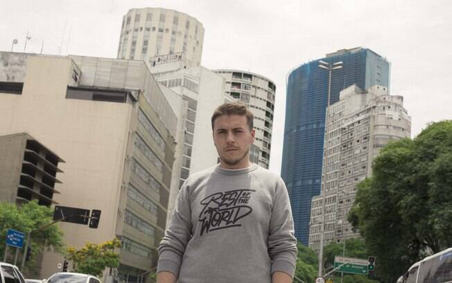 O produtor português Branko gravou sessões de