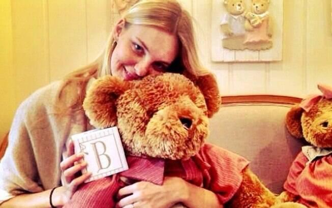 Carol Trentini deu à luz Bento, seu primeiro filho