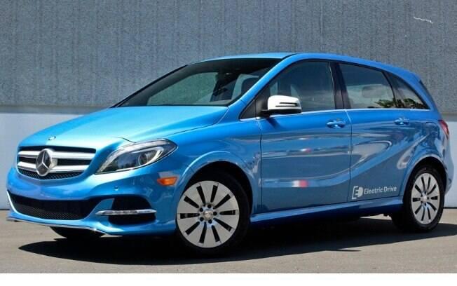 Mercedes-Benz B-Class Electric será uma opções de marca premium