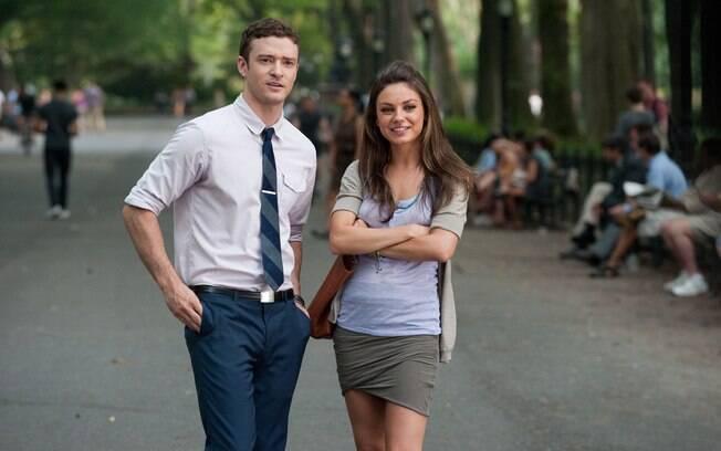 Justin Timberlake e Mila Kunis no filme