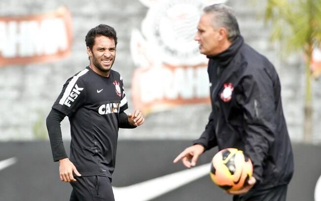 Tite escalará Ibson como titular do Corinthians diante da Portuguesa