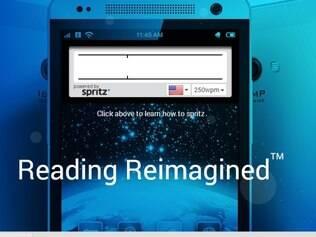 Se atingir a velocidade máxima do aplicativo, um leitor conseguiria completar um livro de 300 páginas em cerca de 90 minutos