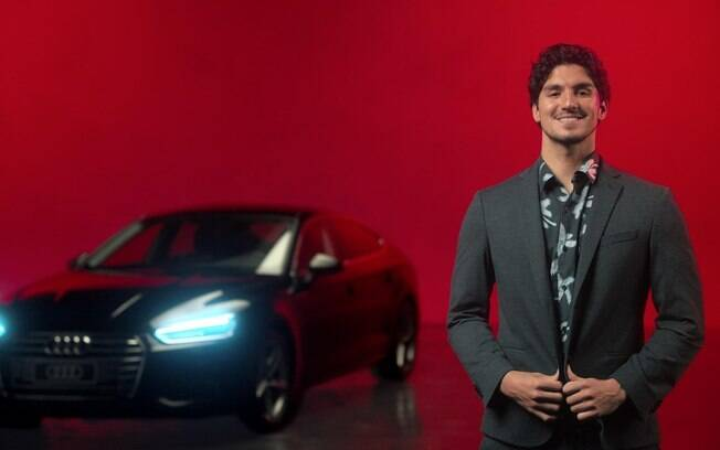 Gabriel Medina é garoto-propaganda da Audi
