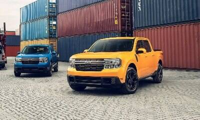 Primeiras unidades da Ford Maverick chegam ao Brasil