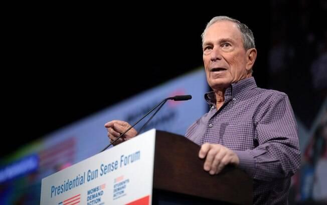 Bloomberg tenta ser o candidato dos Democratas para a próxima eleição
