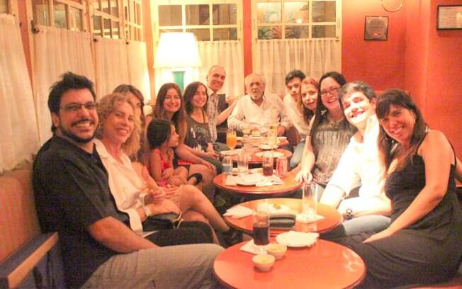 Lúcio Mauro com a família
